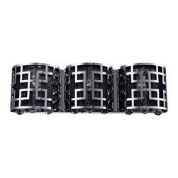 Z Lite - Z Lite 839CH-3V 3-Light Crystal Vanity Light - Z Lite 839CH-3V 3-Light Crystal Vanity Light