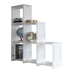 Cubitec Base Shelving Solution - Trans. White