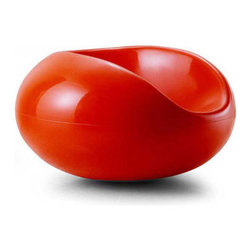 Aarnio Pastil Chair - The Pastil Chair is actually the interior space of the Ball chair made by the same designer. What a cool way to use and re-use your materials. It's modern and playful with the bright colors and the cool jellybean shape. Since it's fiberglass it's durable and lightweight. Throw it in the pool or just sit poolside and enjoy.