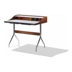 Herman Miller - Herman Miller   Nelson™ Swag Leg Desk - Design by George Nelson, 1958.