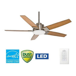 "Casablanca - Casablanca 59109 Zudio 56"" 5 Blade Energy Star Ceiling Fan - LED Light Kit, Blad - Included Components:"
