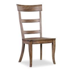 Hooker Furniture - Hooker Furniture Set of 2 Sorella Ladderback Side Chair 5107-75310 - Includes Set of 2 Side Chair only