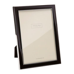 Addison Ross - Addison Ross Black Enamel Frames, 8x10 - Simply one of our best selling designs and originally designed for one of the Use's best known accessory brands. This frame is finished with a Black flocked back and can stand both in Portrait and Landscape format.