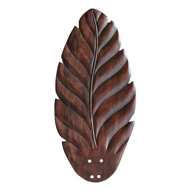"""Emerson - Emerson B109DC 22"""" Hand Carved Leaf Blades - Compatible with Fans: CF787, CF788, CF921 CF620, CF4801, CF4501"""