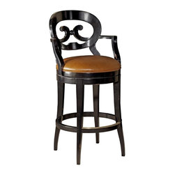 EuroLux Home - New French Country Swivel Counter Stool - Product Details
