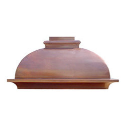 "Texas Lightsmith Custom Kitchen Range Hood #2 - List price - body only; 36""W x 36""H x 24""D, custom sizes & inserts available from Texas Lightsmith"