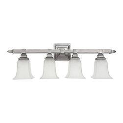 Capital Lighting - Capital Lighting 1064-142 4 Light Vanity Fixture - Capital Lighting 4 Light Vanity Fixture