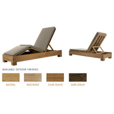 Contemporary Outdoor Chaise Lounges by sutherlandfurniture.com