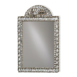 Currey & Company - Currey & Company Abalone Mirror CC-1325 - Beautiful mirror with abalone shells. The mirror can be used in bathrooms as well as a beautiful accent piece in any room. The Hayes Parker Collection.