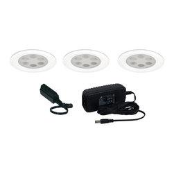 Jesco Lighting - Jesco KIT-PK755-A Under Cabinet Light Kit - Jesco KIT-PK755-A Under Cabinet Light Kit