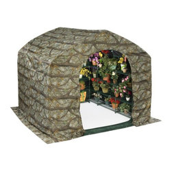 Flowerhouse - Flowerhouse Farmhouse Flower Forcer - 14331847 - Shop for Greenhouses from Hayneedle.com! The Flowerhouse Farmhouse Flower Forcer is made of durable Gro-tec material and is the perfect way to protect your plants and encourage flowering. This cover is easy to use with an open bottom panel and attractive woodland pattern. It reduces sunlight for flowering plants and helps keep them protected from wind snow and rain.