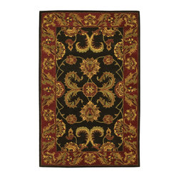 Nourison - NOUR-11149 Nourison India House Area Rug Collection - Traditional designs are the hallmarks of this collection of area rugs. Featuring classic traditional patterns, as well as striking contemporary motifs, there's something here for any decorating preference. This is truly an extraordinary combination of beauty and value.