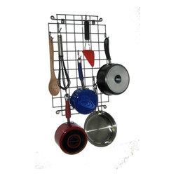 Enclume - Decor Grid Wall Rack - Dimensions: