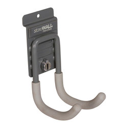 Storewall - Cradle Hook w/camLok - Cradle Hook can be used to store a wide variety of tools and implements, like shovels, rakes and extension cords.