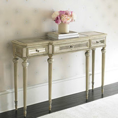 traditional side tables and accent tables by Chic Coles