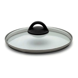 "Kuhn Rikon - Kuhn Rikon 8.75"" Glass Lid (22 cm) - Swap your pressure cooker lid for a glass lid, and turn your Kuhn Rikon Duromatic into an everyday piece of cookware."