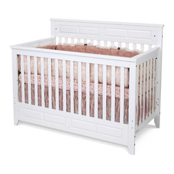 Child Craft - Child Craft Logan Lifetime 3 in 1 Convertible Crib - White - F34701.46 - Shop for Cribs from Hayneedle.com! Babies needs change faster than you can blink so the Child Craft Logan Lifetime Convertible Crib - White makes it easy to keep up. Her infant days are covered by the trusted crib while her toddler phase is made equally secure when you convert to the big-kid bed. Complete with hardwood construction non-toxic finish and all the tools you'll need to make the transition smooth and easy this convertible unit has you covered. Additional information: Optional toddler guard sold separately Converts easily without sacrificing integrity of unit or pieces; simply remove front side assembly Non-toxic baby-safe finish on all pieces All assembly screws fit into metal bushings so you may safely convert this bed as many times as necessary Crib mattress sold separately Full-size bed rails are available separately to convert to full-size bed Assembly required; includes instructions and all necessary hardware Manufacturer's limited lifetime warranty About Child CraftFounded in 1911 in Salem Indiana Child Craft Industries is a family-owned American company synonymous with quality and value. Manufacturer of cribs and children's furniture the company is very strongly committed to product standards and safety and combines beautiful design and innovative features with sturdy construction and superior craftsmanship. The principles of quality and integrity that served to guide the company for nearly 100 years remains unchanged even today and Child Craft continues to be a respected name in children's furniture.