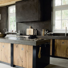 a modern rustic kitchen | the style files
