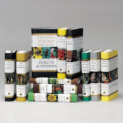 National Audubon Society North American Field Guides Set - This set of tomes from the National Audubon Society would make a fun and informative addition to any library. Tuck one into your pack when you head out on a nature walk, or just peruse them by the fire on a blustery night.