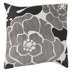 "Surya - Surya FB-010 20"" x 20"" Down Feathers Pillow Kit - Add style and sophistication to any room with this modern pillow."
