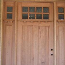 Contemporary Front Doors by Pella Windows & Doors