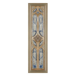 Paragon Decor - Whispering Windows II Artwork - Exclusive Reverse Painted Glass