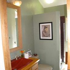 Traditional Bathroom by Karen White Interior Design