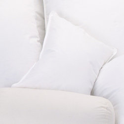 Ogallala Comfort Company - 75 / 25 Boudoir Pillow - Decorative pillows add luxury and comfort to your home. Sink in, relax and enjoy your surroundings, anywhere you are. Our Hypodown blend is four parts white goose down and one part Syriaca clusters, a fiber from the milkweed plant. The two work hand in hand to give you the best of their natural abilities: warmth and comfort. Down clusters are the soft fluff under feathers that keep birds comfortable no matter what the climate. In order to measure nature's performance, down is rated by two distinct values, Percent Down Cluster and Fill Power. Features: -Pillow. -Made in United States.