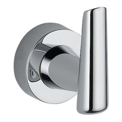 Delta Robe Hook - 77135 - Inspired by the sleek lines of contemporary European design, Grail combines an urban look with a delightfully intimate feel.