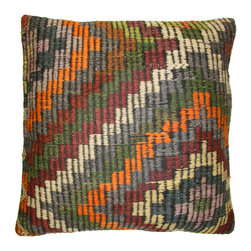 Rug & Relic - Kilim Floor Pillow - As seen in Better Homes & Gardens and Good Housekeeping magazines!