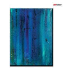 Ocean Blue - Original painting by artist Daniel Bec