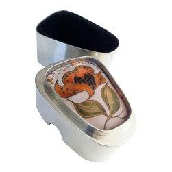 Modernist Pewter Keepsake Box by Hilda Kraus - $545 Est. Retail - $299 on Chairi -