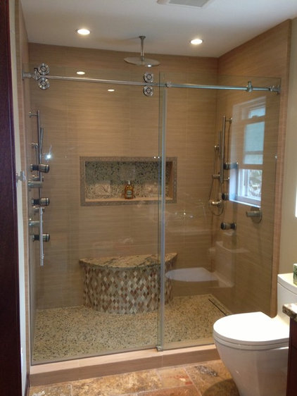 Contemporary Shower Doors by STYLE BATH ENCLOSURES