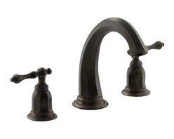 KOHLER - KOHLER K-T13494-4-2BZ Kelston Deck-Mount Bath Faucet Trim in Oil-Rubbed Bronze - KOHLER K-T13494-4-2BZ Kelston deck-mount bath faucet trim in Oil-Rubbed Bronze