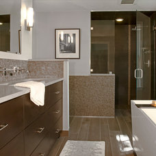 Contemporary Bathroom by Newmyer Distinctive Remodeling