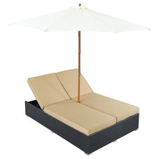 Modern Outdoor Chaise Lounges by LexMod