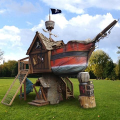 eclectic outdoor playsets by Hayneedle