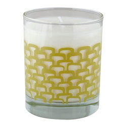 Crash - Sunshine Soy Candle, Grapefruit and Persimmon Fragrance - Modern design and fragrance in a timeless product. Experience functional art in your home, exclusively from Crash. This candle is fragranced with a blend of Grapefruit and Persimmon.