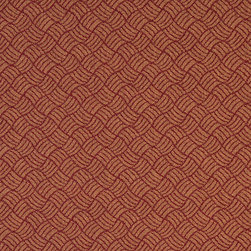 Dark Red And Gold Geometric Heavy Duty Crypton Fabric By The Yard - P6167 is a woven crypton fabric. This material is breathable, stain, bacteria, moisture and abrasion resistant. Stains like blood and urine are easily removable with water and mild soap.