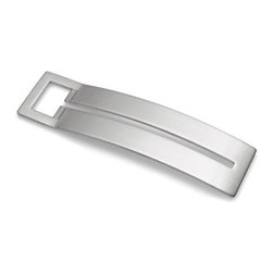 """Blomus - Rido Bottle Opener - A durable accessory for any kitchen, bar, or barbeque. The Blomus Rido bottle opener, with its contemporary, stainless steel design, it provides the most amateur bartender with a professional tool. This sleek utensil is also pocket-sized for portability. Features: -Easy grip -Dishwasher safe -Stainless steel, matte finish -Overall Dimensions: 6""""D"""