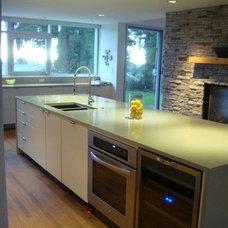 Contemporary Kitchen by Werner Construction Ltd.