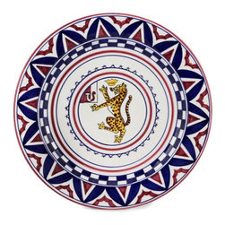 Artistica - Hand Made in Italy - PALIO DI SIENA: PANTERA (Panther) Charger - The ''Palio di Siena'' is a tournament as a replica of a medieval horse race which is ran twice year, during the summer season, in the city of Siena, located in the beautiful Tuscany region.