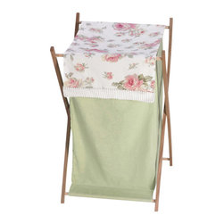 Sweet Jojo Designs - Rileys Roses Laundry Hamper by Sweet Jojo Designs - The Rileys Roses Laundry Hamper by Sweet Jojo Designs, along with the  bedding accessories.