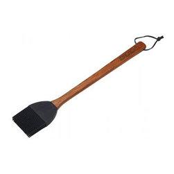 Bull BBQ - Bull Outdoor Rosewood Handle Basting Brush with Silicone Head - Our Rosewood Handle Basting Brush has a removable silicone head and is hand washable