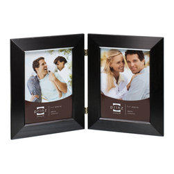 Origin Crafts - Dakota duo black 2 hinged frame (5x7) - Dakota Duo Black 2 Hinged Frame (5x7) Natural Pine wood,,velvet back, wall hangers. Dimensions (in): By Prinz - Prinz is a leading supplier of picture frames. At Prinz they are committed to offering unsurpassed design, quality, and value. Ships within five business days.