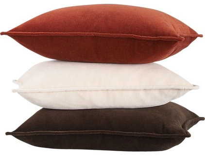 traditional pillows by Crate&Barrel