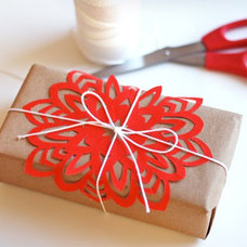 Modern  How About Orange Snowflake Tutorial