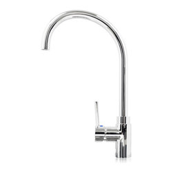 GOLDEN VANTAGE - GV Kitchen Sink Faucet Brass Chrome Finish - GV Kitchen faucet inspired by modern contemporary construction, fabricated from high quality brass material for durability and reliability. Ideals for builders, contractors, designers, superior design and outstanding value just the way you wanted for your new kitchen.