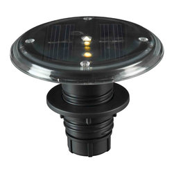 Kenroy - Kenroy 60502 Solar Deck 5-Light Set - Kenroy 60502 Solar Deck 5 Light Set
