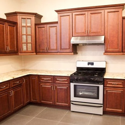 Coline Cabinetry - Red Cherry Cabinets!!